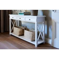 white console table with drawer. White Console Table With Drawer