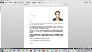 sample application letter with x picture – b  merchandise    sample application letter with picture