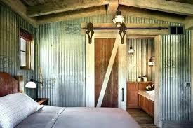 corrugated metal siding wainscoting corrugated metal wainscoting install