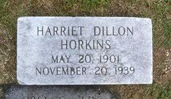 Harriet Dillon Horkins (1901-1939) - Find A Grave Memorial