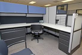Used Haworth Places Cubicles In Houston Texas 8X8