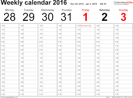 week schedule print out weekly calendar 2016 uk free printable templates for word