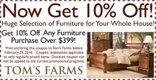 Furniture Store Coupon
