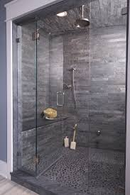 grey shower tiles. Grey Shower Tile Let The This Gray With Interlocking Slate Tiles Rain On Your Parade Beautifulbath Connecticutstone Wwwconnecticutstonecom