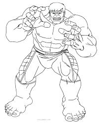 Hulk Printable Coloring Pages Incredible Hulk Printable Coloring