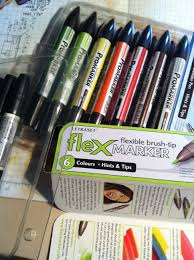 Letraset Promarker And Flexmarker Review Birthday Card