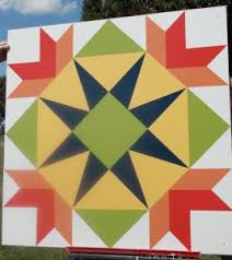 Commons sports bright Barn Quilt Square | New Castle Record & The 4Ã?4-foot square is painted on weather resistant material to ensure its  longevity. Made up of simple geometric shapes such as squares, rectangles  and ... Adamdwight.com