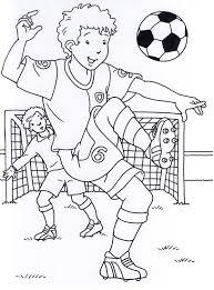 Disegni Di Calcio Da Stampare E Colorare Fredrotgans