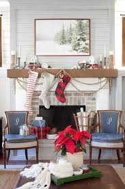 The Lettered Cottage Christmas Mantel Farmhouse Decorating