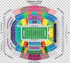 Everbank Field Hard Rock Stadium Seating Assignment Map Png
