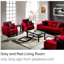 Red And Black Living Room Ideas  TjiHomeRed Black Living Room Decorating Ideas
