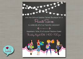 holiday flyer shopping flyer home shopping party jewelry boutique nail cooking christmas party invitation printable digital file 8 5x11 or 5x7