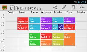 Class Schedule Template Word | Schedule Template Free
