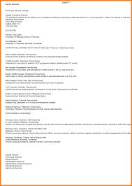 Pharmacist Resume Pdf Pharmacist Resume Sample Complete Guide 24 Examples Pharmacist 17