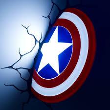 3dlightfx Marvel Avengers Hulk Fist 3d Deco Light 3dlightfx Marvel Avengers Captain America 3d Deco Light