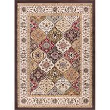 8 x 10 large beige and green area rug laa rc willey furniture