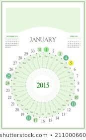 Moon Calendar 2015 Images Stock Photos Vectors Shutterstock