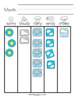 Weather Chart For Preschool Classroom Printable Weather Preschool Printables Preschool Mom