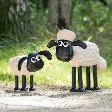 shaun the sheep timmy metal garden