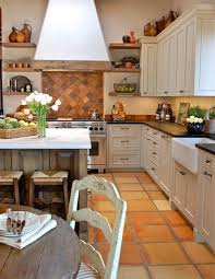 Kitchens With Saltillo Tile Floors Spanish Tile Kitchen Decorating Ideas 99 Gorgeous Photos Ideas