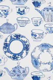 Delfts Blauw Impressie Om Creatief Mee Om Te Gaan Wallpaper Phone
