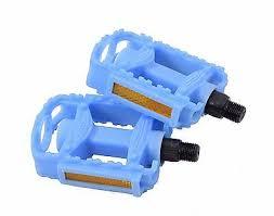 Radsport 2 Pcs Nonslip Blue <b>Aluminum Alloy</b> Pedals for <b>MTB</b> ...