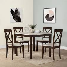 Espresso Kitchen  Dining Room Sets Youll Love Wayfair - All wood dining room sets