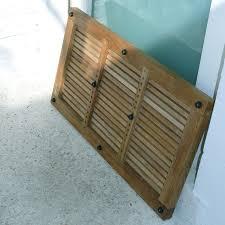... Greenface Reclaimed Teak Doormat in Natural Finish - INF-11560