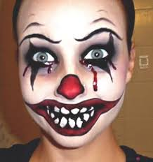 clown makeup tutorial want to be a creepy clown for you can be with this makeup tutorial makeup tips and tutorials from