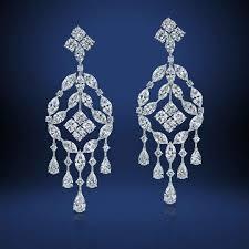 william goldberg fancy shape victoria chandelier diamond earrings for chandelier diamond earrings