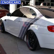 bmw stripes. Contemporary Stripes CNORICARC Tricolor Lines Customized Vinyl Decal Car Body Door Side Stickers  Stripes Racing Styling For BMW Inside Bmw D