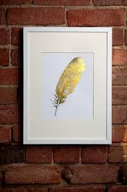 art wall decor feather i see noise gold feather wall art gold feather art print framed gold foil feather print  on gold leaf feather wall art with art wall decor feather i see noise gold feather wall art gold