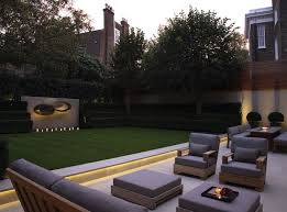 lighting in gardens. minimalism to the max strip lightinglondon gardenled lighting in gardens