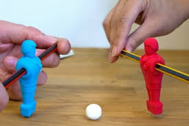 cool stuff for your office. turn your desk into a game table with these foosball erasers cool stuff for office