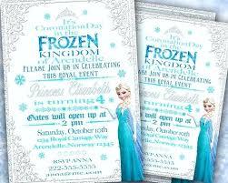 Diy Frozen Invitations Blkmwtkns Co