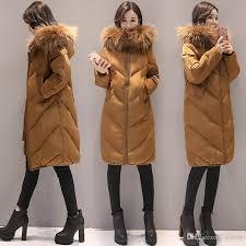 sd hiker 2017 fashion winter jacket coat women long thicken down cotton padded faux big fur collar warm female lady s outwear by yerter