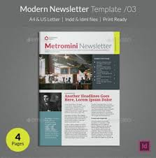 Modern Newsetter Resume Templates Modern Newsletter Templates Magdalene Project Org