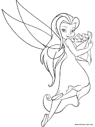 Tinkerbell Coloring Pages Google S Gning Color Disney