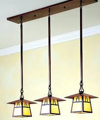 arts and crafts chandelier unusual antique