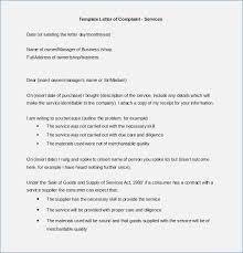 Complaint Format Formal Letter Of Complaint format premiermeco 85