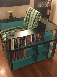 what we love even more about this diy project is that it s easy to build below to see how diy er darko made his bookshelf chair