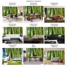Vlies Fototapete Paradies Of Bamboo Bambus Tapete Wald Bambuswald