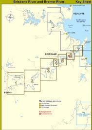 Brisbane River And Bremer River Map Index