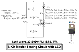 i am working on irfz44n mosfet arduino could you drawing the different wiring as your described and labeling the voltage for them the circuit as this