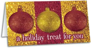Holiday Gift Certificates Holiday Treat For You Gift Certificate Smartpractice