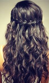 Hairstyle Waterfall best 25 waterfall braid curls ideas waterfall 7108 by stevesalt.us