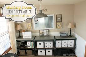 how to organize the home office dining room home office home