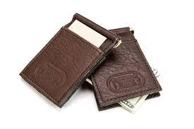 money clip card holder mens money clip made in usa buffalo billfold company