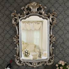 silver framed bathroom wall art