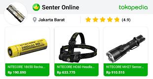 Senter Online - Grogol, Kota Administrasi Jakarta Barat | Tokopedia